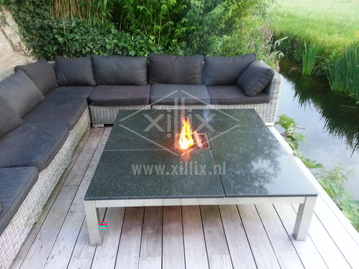 vuurtafel met graniet xillix.nl