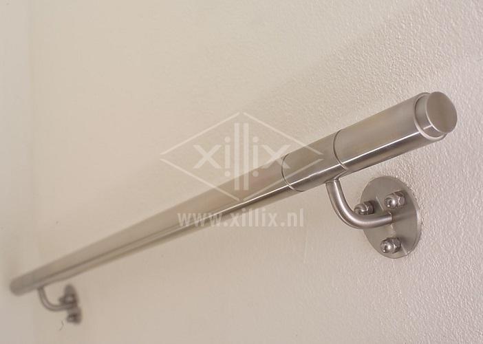 ronde rvs 304 handrailing met ringen
