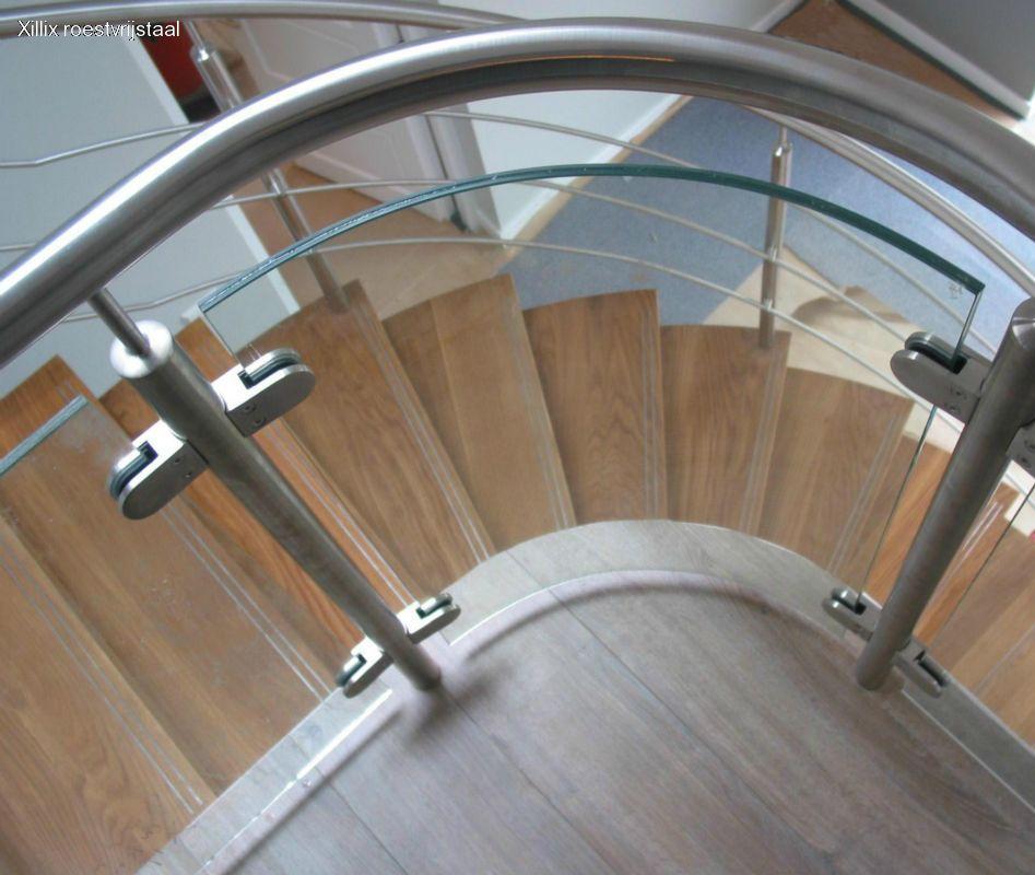 balustrade van gebogen glas xillix.nl