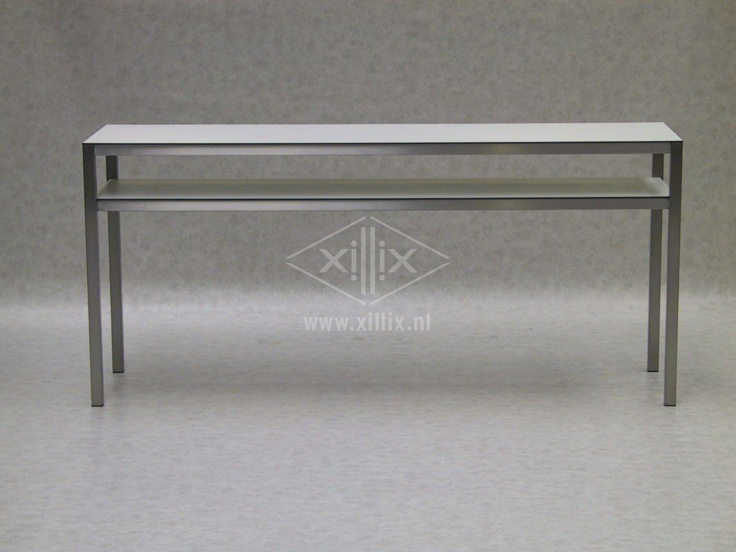 Rvs keukentafel: keukentafel avanti molenaar meubelen.