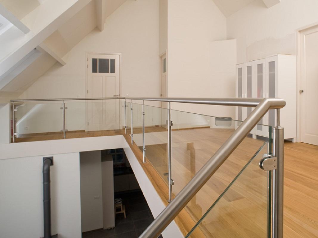 Xillix glazen balustrade met staanders